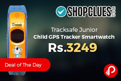 Tracksafe Junior Child GPS Tracker Smartwatch