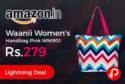 Waanii Women Handbag Pink WNI901