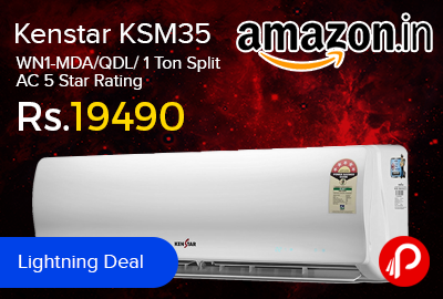 Kenstar KSM35.WN1-MDA/QDL/ 1 Ton Split AC 5 Star Rating