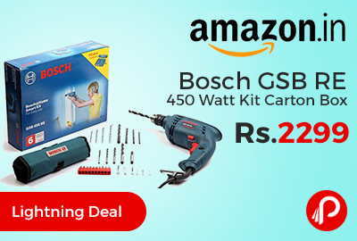 Bosch GSB RE 450 Watt Kit Carton Box