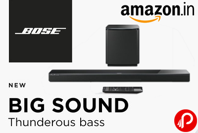 BOSE Big Sound SoundBar Thunderous Bass New Launch Products
