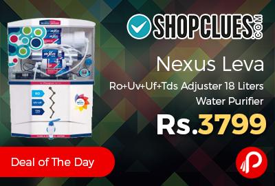 Nexus Leva Ro+Uv+Uf+Tds Adjuster 18 Liters Water Purifier