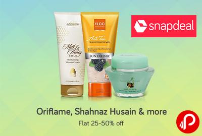 Oriflame, Shanaz Husain, VLCC, Biotique