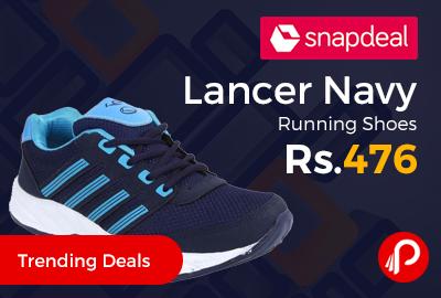 Lancer Navy Running Shoes
