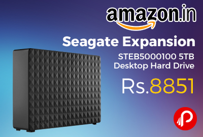 Seagate Expansion STEB5000100 5TB Desktop Hard Drive