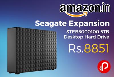 Seagate Expansion STEB5000100 5TB Desktop Hard Drive