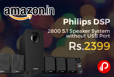 Philips DSP 2800 5.1 Speaker System without USB Port