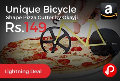Unique Bicycle Shape Pizza Cutter