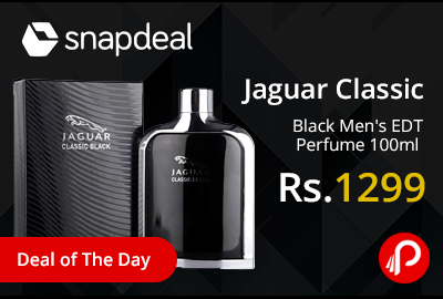 Jaguar Classic Black Men's EDT Perfume 100ml