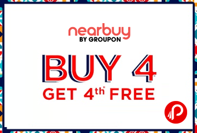 Buy 4 Coupons Get 4th Free