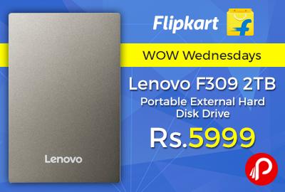 Lenovo F309 2 TB Portable External Disk