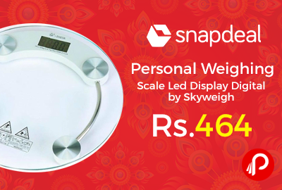 Personal Weighing Scale Led Display Digital