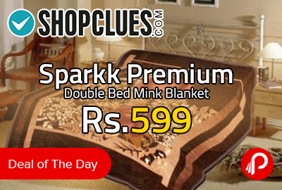 Sparkk Premium Double Bed Mink Blanket