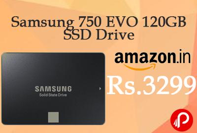 Samsung 750 EVO 120GB SSD Drive