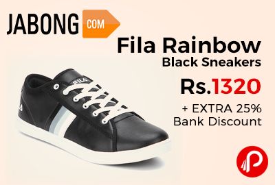 Fila Rainbow Black Sneakers