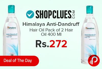 Himalaya Anti-Dandruff Hair Oil Pack of 2 Hair Oil 400 Ml
