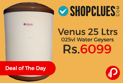 Venus 25 Ltrs 025vl Water Geysers Just at Rs.6099 - Shopclues