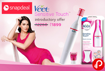 Veet Sensitive Touch Electric Trimmer Multi grooming Kit