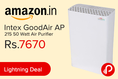 Intex GoodAir AP 215 50 Watt Air Purifier Just at Rs.7670 - Amazon