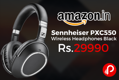 Sennheiser PXC550 Wireless Headphones Black