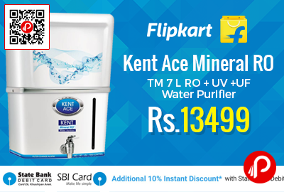 Kent Ace Mineral RO TM 7 L RO + UV +UF Water Purifier