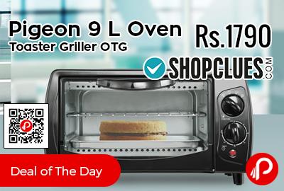 Pigeon 9 L Oven Toaster Griller OTG