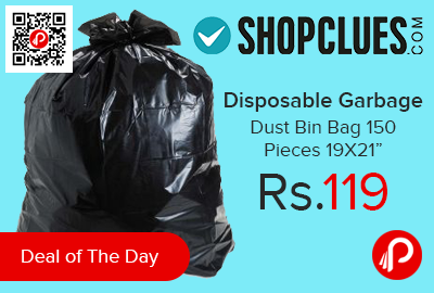 Disposable Garbage / Dust Bin Bag 150 Pieces