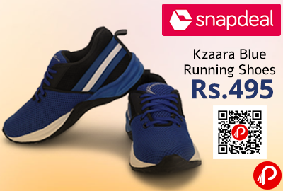 Kzaara Blue Running Shoes