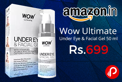 Wow Ultimate Under Eye & Facial Gel 50 ml