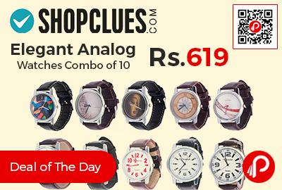Elegant Analog Watches
