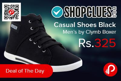 Casual Shoes Black Men's