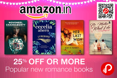 Popular New Romance Books 25 Off Or More Amazon