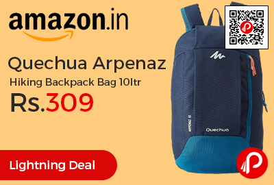 Quechua Arpenaz Hiking Backpack Bag 10ltr