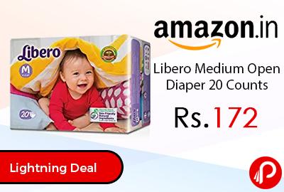 Libero Medium Open Diaper 20 Counts