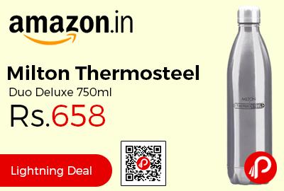 Milton Thermosteel Duo Deluxe 750ml