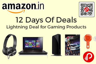 12 Days Of Deals Lightning Deal for Gaming Products