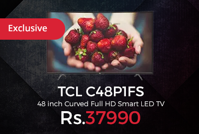 TCL C48P1FS 48 inch Curved Full HD Smart LED TV