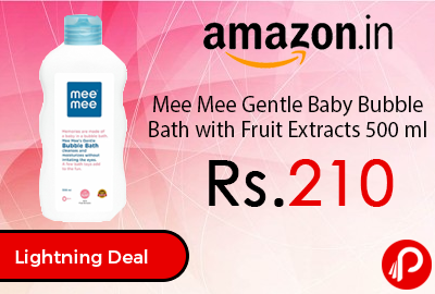 Mee Mee Gentle Baby Bubble Bath with Fruit Extracts 500 ml