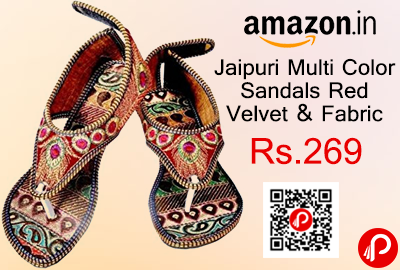 Jaipuri Multi Color Sandals