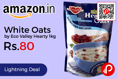 White Oats by Eco Valley Hearty 1kg
