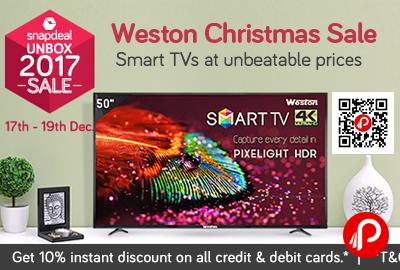 Western Christmas Sale Smart TVs