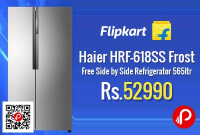 Haier HRF-618SS Frost Free Side