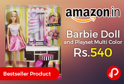 Barbie Doll and Playset Multi Color
