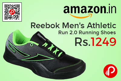 Reebok Men s Athletic Run 2.0 Running Shoes at Rs.1249 - Amazon e7462d0f9