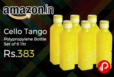 Cello Tango Polypropylene Bottle Set of 6