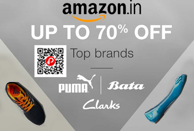 Puma, Bata, Clarks Top Brands Shoe and Sandals
