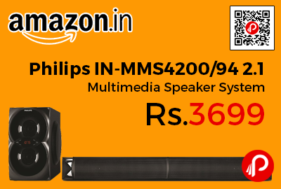 Philips IN-MMS4200/94 2.1 Multimedia Speaker System