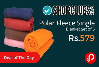 Polar Fleece Single Blanket