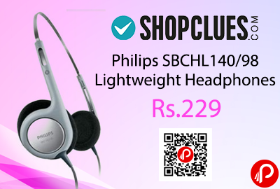 Philips SBCHL140/98 Lightweight Headphones