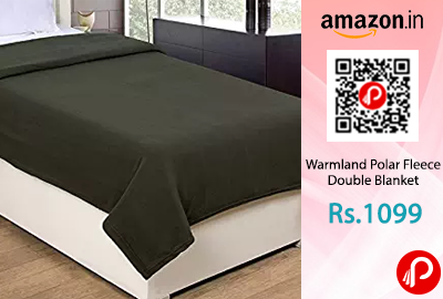 Warmland Polar Fleece Double Blanket